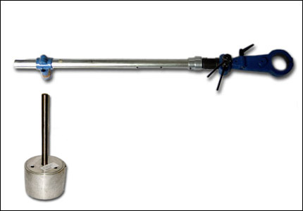 Complete belt tightener for grinders and polishing machines