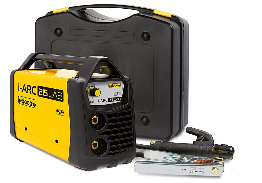 Portable i-ARC 215 LAB welder, DC 150 A