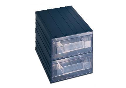 cassettiera componibile vision 19 a 2 cassetti terry