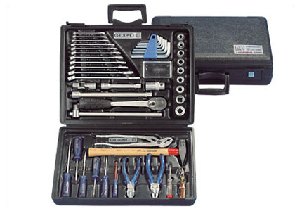Handling tools assortments and accessories