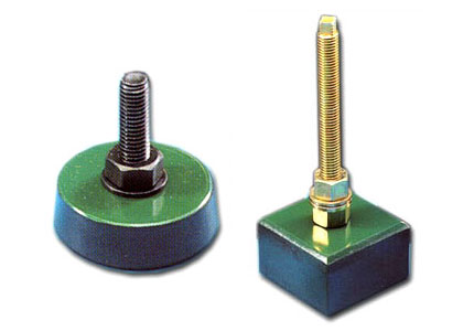Vibration-damping supports